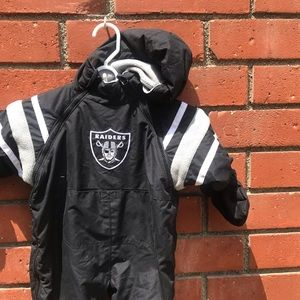 Los Angeles Oakland Raiders Kids Snow Outfit